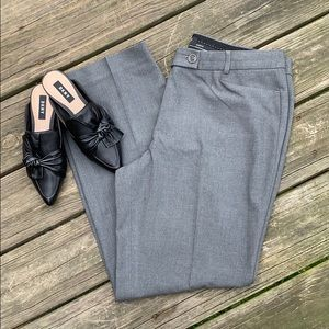 Talbots size 12p dark gray dress pants